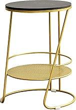 Coffee table, light luxury simple bedside table,