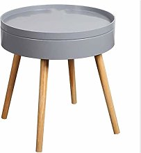 Coffee Table Nordic small round Nightstand Bedroom