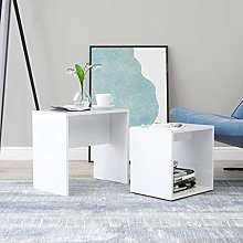 Coffee Table Set Chipboard Center Tables for