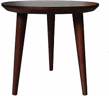 Coffee Table Solid wood small round table sofa
