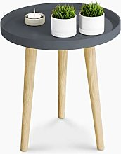 Coffee Table Z.Z.F Nordic Small Round Table Simple
