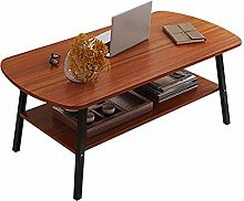 Coffee Tables Double Layered Coffee Table Modern