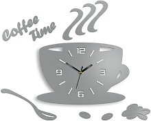 Coffee Time 3D Wall Clock Happy Larry
