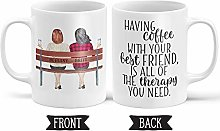 Coffee with Your Best Friend Personalized Gift