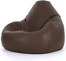 Cogbill Leather Recliner Bean Bag Chair Borough