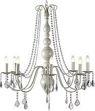 Cogburn 8-Light Candle-Style Chandelier Fleur De