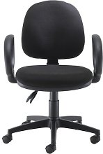Coil Desk Chair Symple Stuff Arms: Fixed, Colour