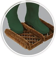 Coir and Wire Boot Scraper Heavy Duty Outdoor