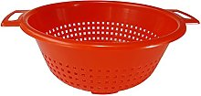 Colander Plastic Strainer with Twin Side Handles