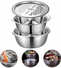 Colander with Bowl, Kitchen Graters Cheese Grater