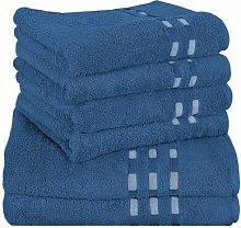 Colares 6 Piece Towel Set Delindo Lifestyle