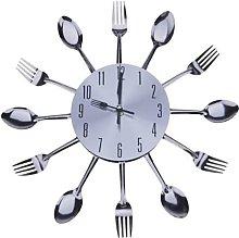 Coldiroch Fork spoon spoon clock kitchen chef