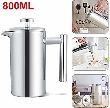 Coldshine French Press Coffee Double Wall Maker