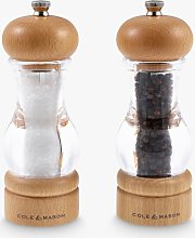 Cole & Mason Beech Wood Precision Salt & Pepper