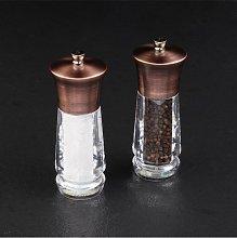 Cole & Mason Exford Brass Salt & Pepper Mill Set