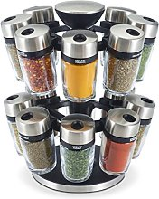 Cole & Mason Premium 16 Jar Filled Herb and Spice