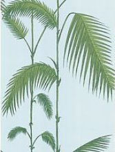 Cole & Son Palm Leaves Wallpaper, Blue / Green,