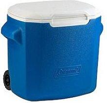 Coleman 28Qt Performance Wheeled Cooler - Blue