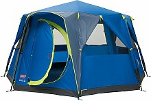 Coleman 8 Man 1 Room Octagon Dome Camping Tent -