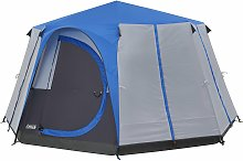 Coleman 8 Man 1 Room Octagon Dome Glamping Tent -