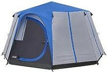 Coleman Cortes Octagon 8 Blue Glamping Tent