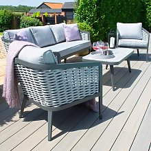 Coleville 5 Seater Rattan Sofa Set Sol 72 Outdoor