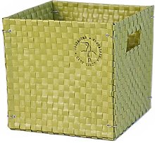 Colibries Foldable Basket, Green