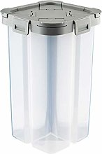 ColiCor 2pcs Food Storage Container,Four Grid