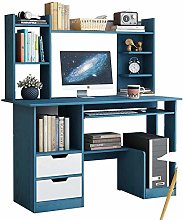 COLiJOL Bookend Pc Table Computer Desk with 2