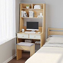 COLiJOL Bookend Pc Table Study-Desk Writing Table