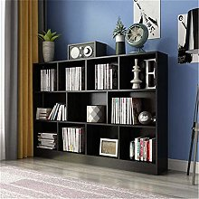 COLiJOL Bookshelf Bookcase Living Room Storage