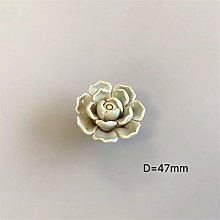 COLiJOL Ceramic Cabinet Handle Ceramic Flower