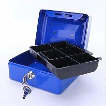 COLiJOL Coin Money Box Coin Savings Tin Safe Money