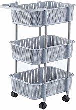 COLiJOL Fruit Bowl Storage Basket Kitchen