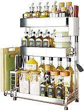 COLiJOL Kitchen Spice Rack Spice Rack Frame 3