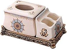 COLiJOL Napkin Organzier Tissue Box Cover Storage