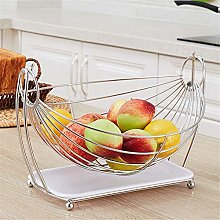 COLiJOL Storage Bookcase Stainless Steel Fruit