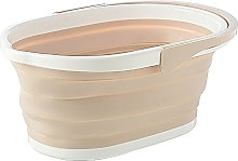 Collapsible Bucket with Handle Portable Folding