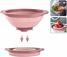 Collapsible Colander and Strainer, Folding