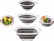 Collapsible Colander - BPA Free Silicone Food