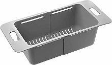 Collapsible Colander Drain Basket for Fruits and
