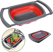 Collapsible Colander,Lifesport Over the Sink