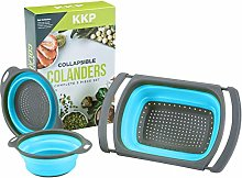 Collapsible Colander Set 3PC by Kool Kitchen Pros