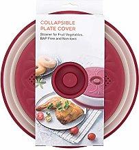 Collapsible Microwave Splatter Cover Colander