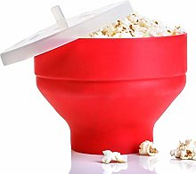 Collapsible Silicone Microwave Bowl, Hot Air