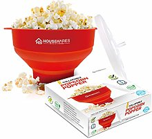 Collapsible Silicone Microwave Hot Air Popcorn