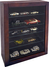 COLLECTION - Wall Display Cabinet with 4 Glass