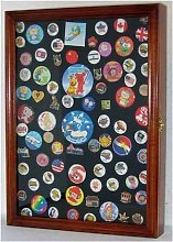 Collector Pin and Medal Display Case Holder