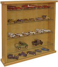 COLLECTORS - Wall Display Cabinet With Four Glass
