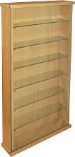 COLLECTORS - Wall Display Cabinet With Six Glass